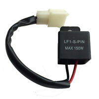 2 Pin Electronic LED Flasher Relay FIX Motorcycle Turn Signal Bulbs Flash