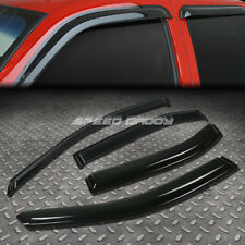 FOR 06-12 FUSION/MILAN SMOKE TINT WINDOW VISOR/WIND DEFLECTOR VENT RAIN GUARD