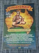SILVERCHAIR - 1997 FREAK SHOWS AUSTRALIA TOUR - LAMINATED PROMO TOUR POSTER