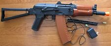 Full Metal AK74U Auto Electric Airsoft Gun Shoot Up to 400 FPS with 0.2G BB