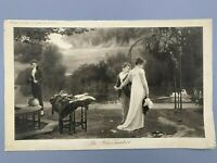 "Antique Print 19th C Marcus Stone Engraving ""The Peacemaker"" Large Rare Find"