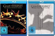 Game of Thrones Staffel 2+3 Blu-ray Set NEU OVP
