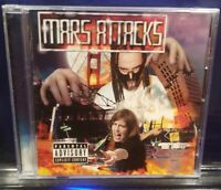 Mars - Mars Attacks CD MIR horrorcore mad insanity undergound rap music qstrange
