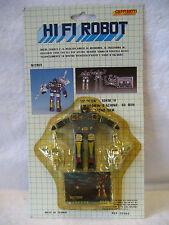 MOC vintage HI FI ROBOT cassette tape FRENZY microman micro change transformers