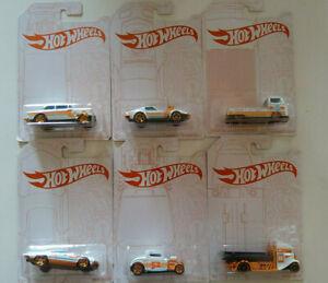 Hot Wheels Série Pearl & Chrome lot de 6 Ford Volkswagen Chevrolet (NP12)