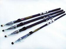 Portable Carbon Fiber Superhard Telescopic Rock Fishing Rod Pole Tackle3.6m-7.2m