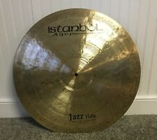 """Istanbul Agop 22"""" Special Edition Jazz Ride -2262g (video/sound file)"""