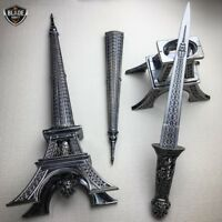 "15"" Eiffel Tower Letter Opener Blade Dagger Executive Knife Statue w/ GIFT BOX"