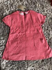 Zara Pink Knit Dress Age 3-4 Bnwt