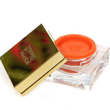 Yves Saint Laurent YSL Cream Blush Blusher Makeup Pot 4 Audacious Orange