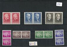 nr133 Belgian Postage Postal Stamps MNH 1955 979/985 X 2