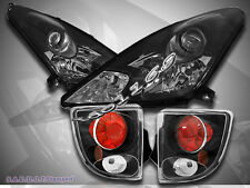 00-05 Toyota Celica Projector Headlights & Tail Lights Black