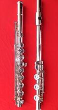 Altus 1407 (1607) RIB Vollsilber Querflöte Silberflöte, Flute solid silver