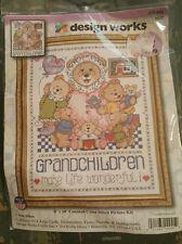 Design Works Grandchildren Make Life Wonderful CrossStitch Kit 9637 Joan Elliott