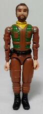GI JOE VTG 80's STRAIGHT ARM BROWN SUIT 3.75'' ACTION FIGURE