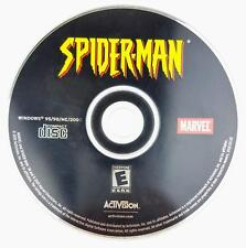 Spider-Man Jewel Case (PC, 2002) Windows Game Disk Only