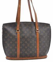 Authentic Louis Vuitton Monogram Babylone Tote Bag M51102 LV B3559