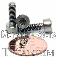 4mm x 0.70 x 12mm - TITANIUM SOCKET HEAD CAP Screw - DIN 912 Grade 5 Ti M4 Hex