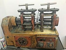 MARIO DI MARIO 110MM Combination AUTOMATIC Rolling Mill JEWELRY TOOLS ROLLER
