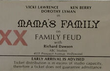 Ken Berry Estate: TV show Ticket Mama's Family Family Fued