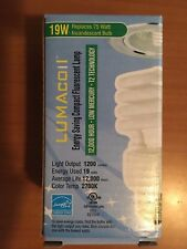 LUMACOIL L30119T2 ENERGY SAVING COMPACT FLUORESCENT LAMP 19W