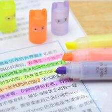 6pcs Colors Cute Painting Cartoon Marker Highlighter Fluorescent Pen Ninja