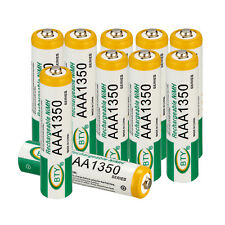 10Pcs Batteries AAA 1350mAh Ni-MH Rechargeable Battery for Camera Toys #US