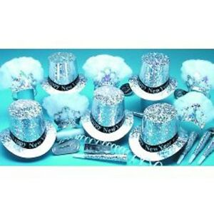 Sterling New Years Party Kit for 50 Guests
