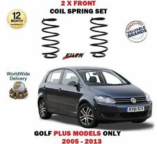 FOR VOLKSWAGEN VW GOLF PLUS 1.4 FSI TSI 1.6 TDI 2005-> 2X FRONT COIL SPRING SET
