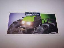 Prospectus/Brochure/Prospekt Tracteur/Tractor Deutz Fahr Gamme Agrotron (230)