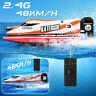 2.4GHz Rennboot 4 Kanal 48KM/H Ferngesteuertes Schiff Boot RC Speedboot Boat Toy