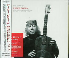 PETER GREEN-THE BEST OF PETER GREEN SPLINTER GROUP-IMPORT CD WITH JAPAN OBI C65