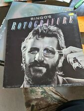 New listing RARE RINGO STARR LP ROTOGRAVURE Gatefold England FIRST PRESS NR MINT printed inn