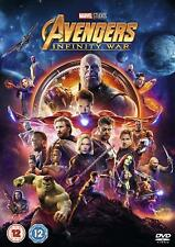 Avengers Infinity War DVD 2018 Film Movie Genuine Region 2
