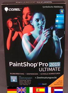 Corel PaintShop Pro 2019 Ultimate Vollversion + Handbuch (PDF) Download NEU