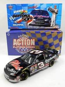 NASCAR DALE EARNHARDT #3 MONTE CARLO 1998 DAYTONA GOODWRENCH 1:18 ~ 1 OF 4,008