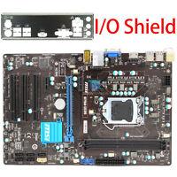 for MSI B75A-IE35  Intel Motherboard CPU i7 i5 i3 LGA 1155 DDR3 I/O Shield