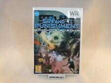SIN AND PUNISHMENT SUCCESSOR OF THE SKIES NINTENDO WII PAL ITA ITALIANO COMPLETO