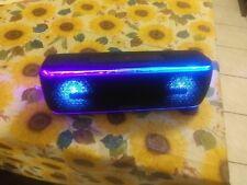 Sony SRS-XB41 MP3 Bluetooth Speaker With NFC/ Lights Black
