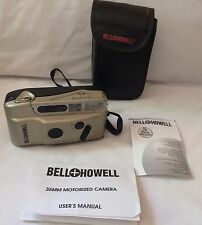 Vintage Bell & Howell F/3.5 Point & Shoot 35 mm Camera w/case