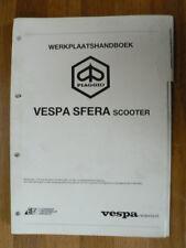VESPA SFERA SCOOTER PIAGGIO WERKPLAATSHANDBOEK MOPED MOFA