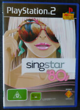 Singstar '80s Playstation 2 Sony PS2 Game PAL format Manual Included