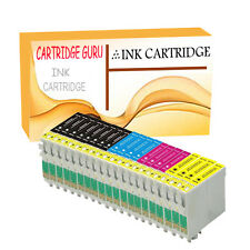20 Ink Cartridge for Epson Workforce Printer Wf-3010dw Wf-3520dwf Wf-3530dtwf