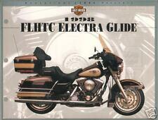"1998 HARLEY-DAVIDSON FLHTC ELECTRA GLIDE 8.5 x11"" Bike Photo Spec Sheet Print"
