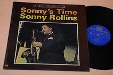 SONNY ROLLINS LP JAZZ DE SONNY TIME RIVERSIDE MONO TOP EX