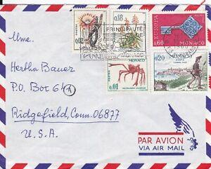 MON36) MONACO 1968 MARINE LIFE AND PLANTS; EUROPA; XVIII TIMBRE TAXES