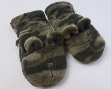 Baby Gap Mittens 12-18 Months Boys Camo Bear Ears Adjustable Baby Gloves Fleece