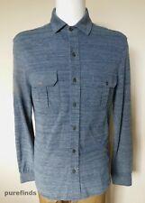 Orlebar Brown Linsel Shirt Size XL Colour True Blue Melange