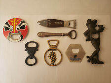 Bottle Opener Collection - Lot Of 7 - Florida Bull Frog Grapes