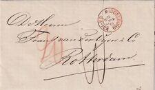 Brief 4 dec 1867 Middelburg (tweeletter) naar Rotterdam